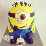 Minion taart 3D