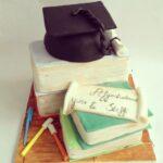 Afgestudeerd taart
