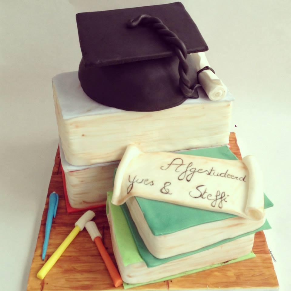 taart afgestudeerd Taarten | Zalig Zoet taart afgestudeerd