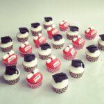Afstudeer cupcakes