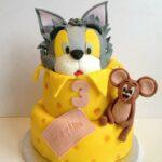 Tom & Jerry taart